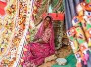 traditional rajasthani woman