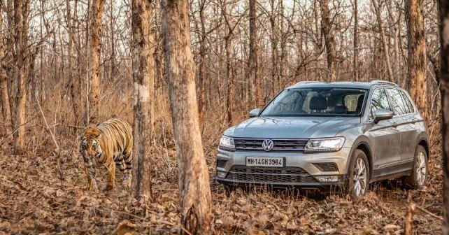 Volkswagen Tiguan Front Three Quarter1
