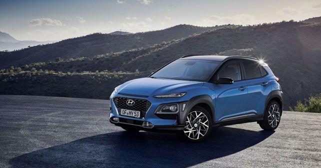 All New  Hyundai Kona Hybrid Exterior Static