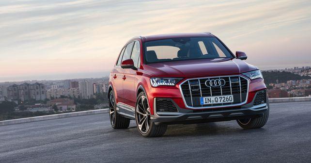 2019 Audi Q7 Front static
