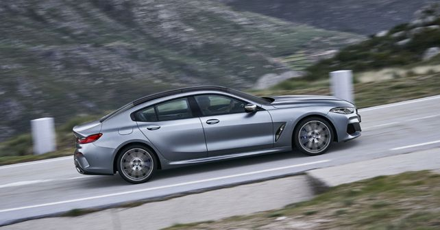 BMW 8 Series Gran Coupe Side View Motion