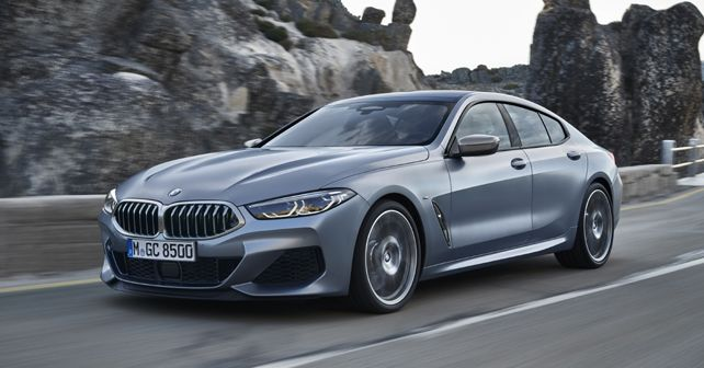 2019 BMW 8 Series Gran Coupe Front Quarter Dynamic