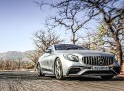 2019 Mercedes AMG S63 Coupe front action