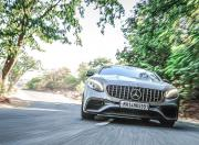 2019 Mercedes AMG S63 Coupe front dynamic