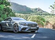 2019 Mercedes AMG S63 Coupe front three quarter
