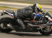 2020 BMW S 1000 RR track test corner
