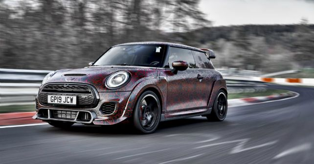 2020 Mini John Cooper Works Gp Prototype In Action M