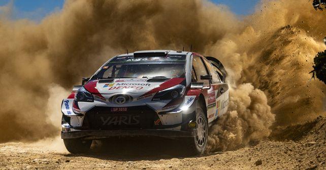 Ott Tanak 2019 Rally Portugal