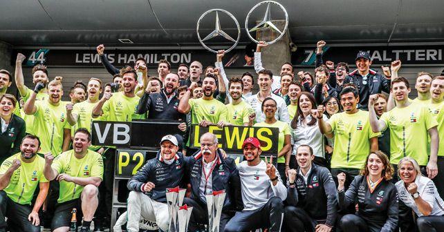 Dieter Zetsche Mercedes F1 Team