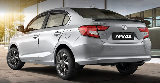 Honda Amaze Ace Edition Rear Static
