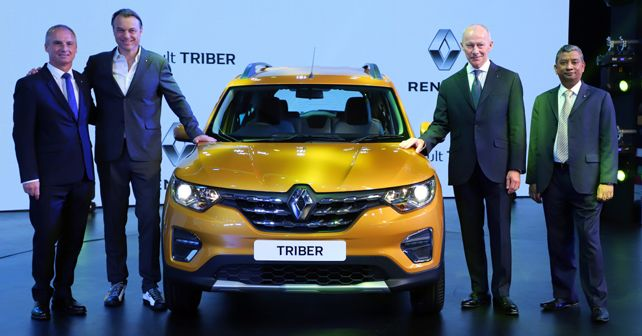 Renault Triber makes its global debut in India