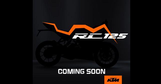 KTM RC 125 Teaser