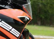 KTM RC125 detail badge gallery