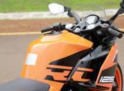 KTM RC125 detail fuel tank gallery