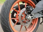KTM RC125 detail rear disc gallery