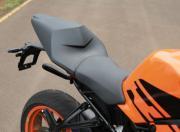 KTM RC125 detail seat gallery