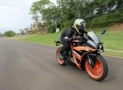KTM RC125 in action gallery