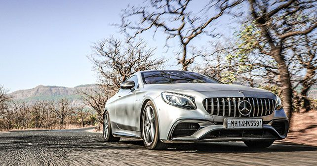 Mercedes AMG S63 Coupe Front Low Angle