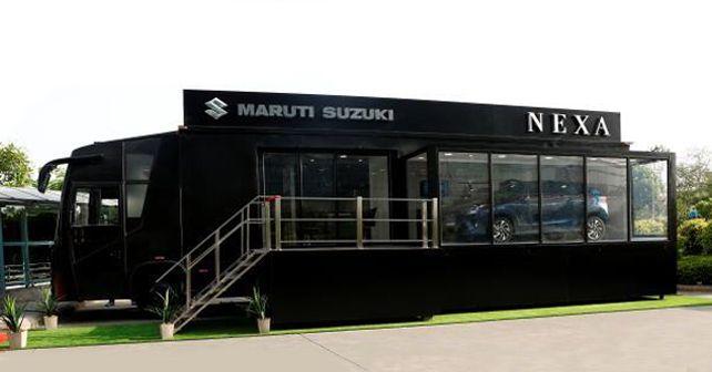 Mobile NEXA Terminal launched by Maruti Suzuki