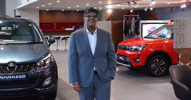 Mr Veejay Nakra Chief Of Sales Marketing Automotive M and M Ltd At The Showcase Of Mahindra World Of SUVs