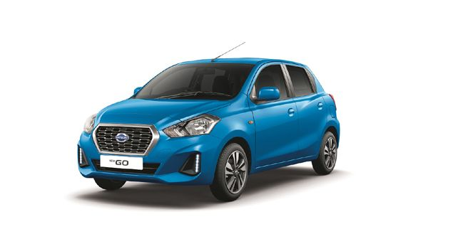 2019 Datsun GO in new Vivid Blue colour