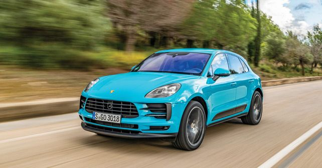 Porsche Macan S Front Three Quarter
