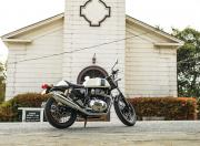 Royal Enfield Continental 650 static