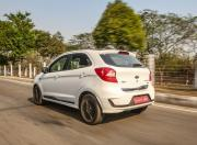 ford figo blu rear three quarter
