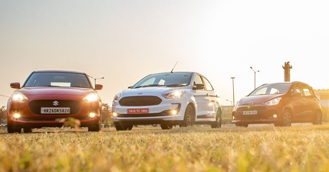 Ford Figo Vs Maruti Swift Vs Hyundai Grand I10