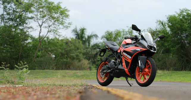 Ktm Rc 125 Front Static