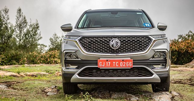 MG Hector Front Static