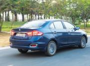 new maruti suzuki ciaz rear three quarter