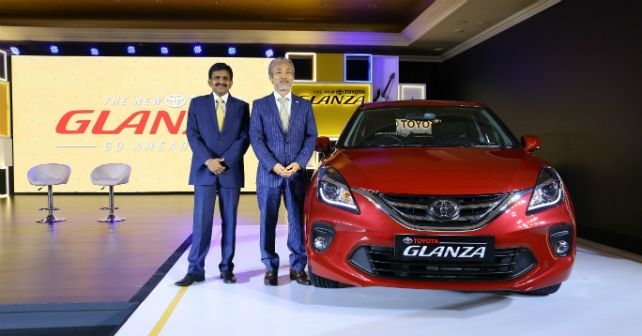 Toyota Glanza Front Image Launch M