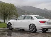 2017 Audi A4 rear section