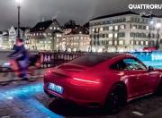 2018 Porsche 911 GTS rear angle