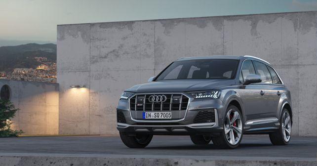 2020 Audi SQ7 TDI Front Quarter Static