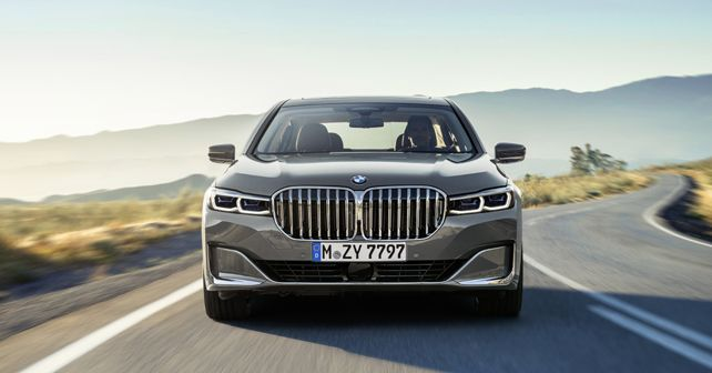 2019 BMW 7 Series Facelift Front Fascia