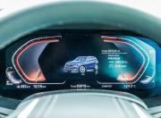 2019 BMW X5 digital instrument cluster