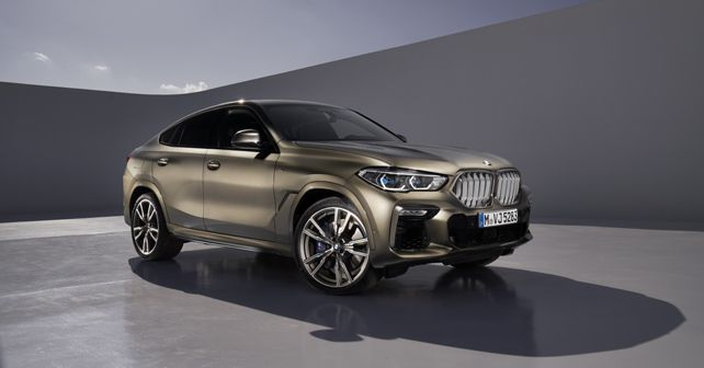 2019 BMW X6 Front Quarter