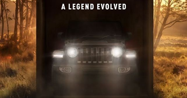 2019 Jeep Wrangler India Launch Teaser