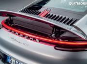 2019 Porsche 911 Carrera 4S engine cover