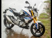 BMW G 310 R still side angle