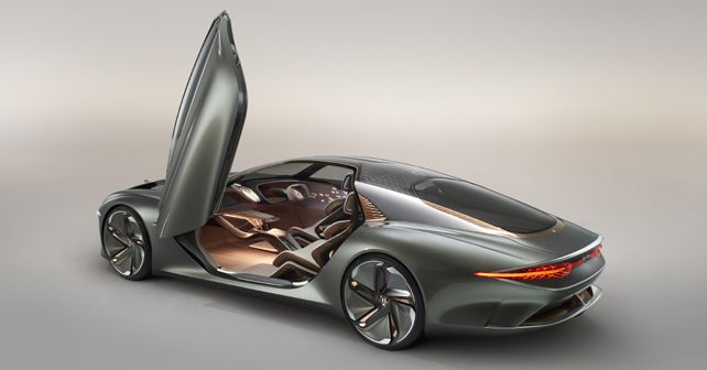Bentley EXP 100 GT Concept Door Opening