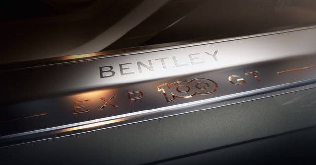 Bentley EXP 100 GT Teaser