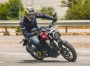 Honda CB300R handling
