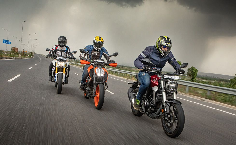 Honda CB300R vs KTM 390 Duke vs BMW G 310 R