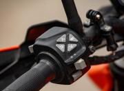 KTM 390 Duke switchgear