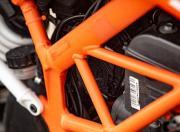 KTM 390 Duke trellis frame