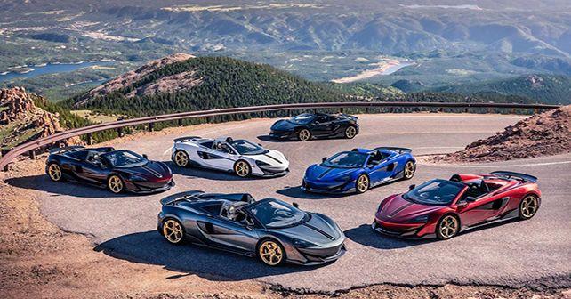 McLaren 600LT Pikes Peak Collection