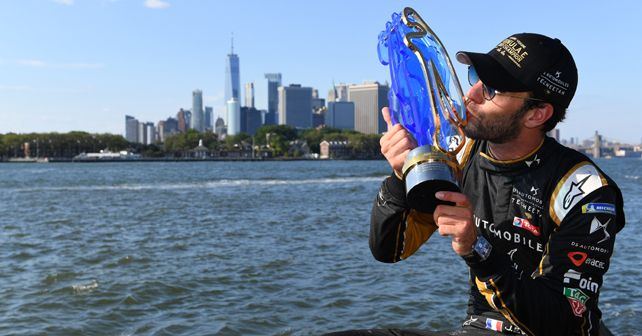 NYC EPrix Round 2 Jean Eric Vergne claims second Formula E Title